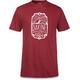 Dakine Head Tube T-Shirt Herrer rød